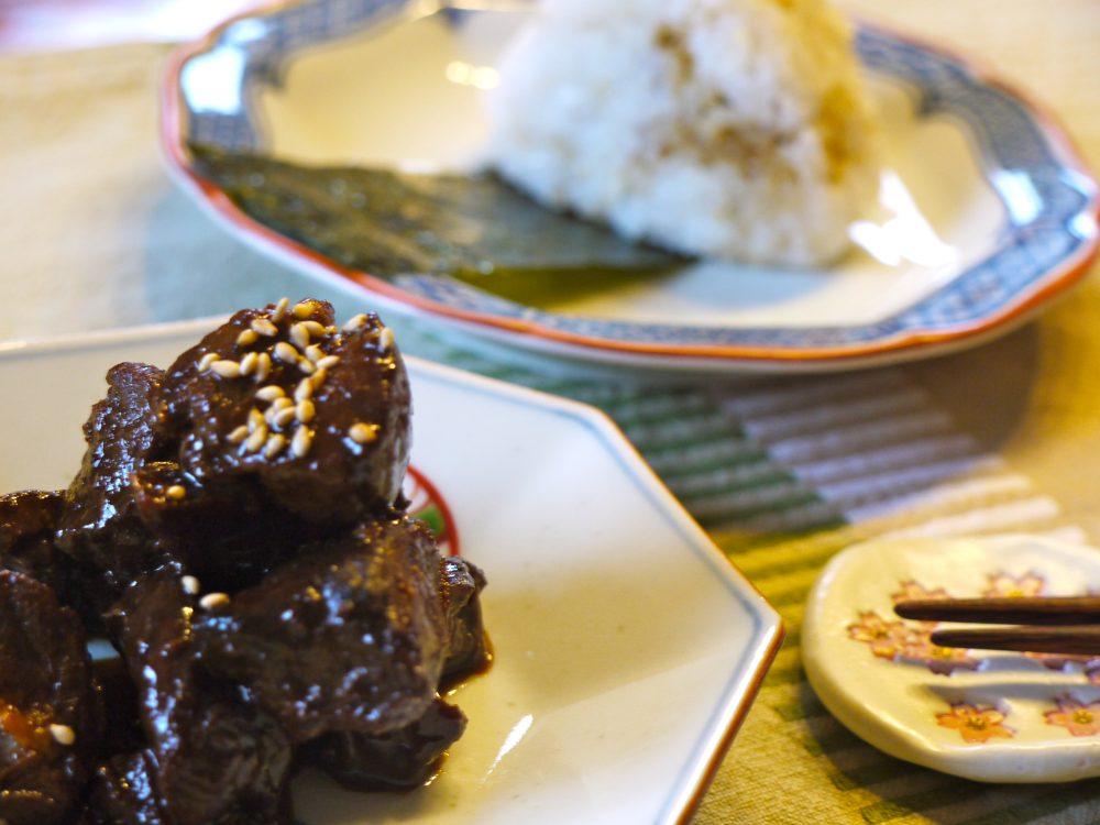 pork tsukudani