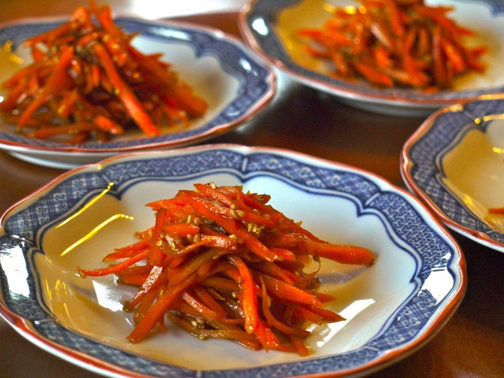 carrot kimpira