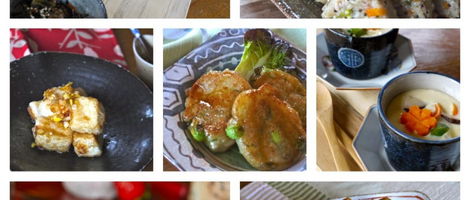 Vegetarian with Japanese Food (Gluten & Lactose Free)