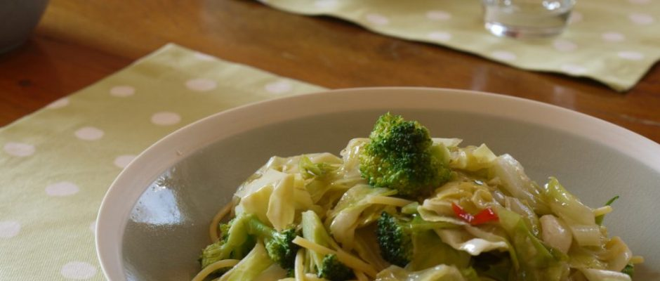 cabbage pasta