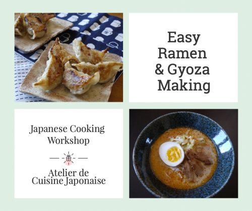 {:en}Workshop : Easy Ramen & Gyoza Making{:}{:fr}Atelier - Easy Ramen & Gyoza Making {:} @ theMatchaGreen